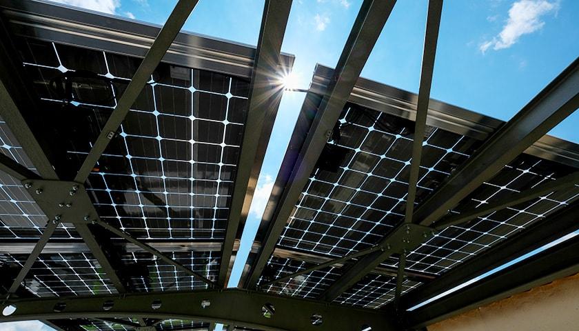 Instalación de Paneles Solares | Tipo pérgola